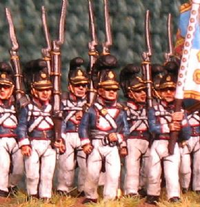 15mm, Napoleonic Wurttemberg Line Infantry AB 24 figures